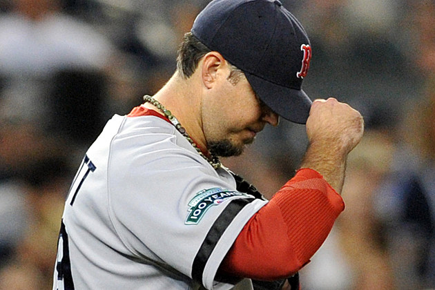 Red Sox Pitcher Josh Beckett