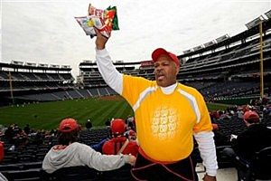 Cracker Jacks at Ballpark