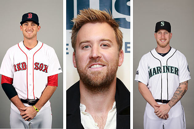 MLB Will Middlebrooks, Charles Kelley, Mike Carp