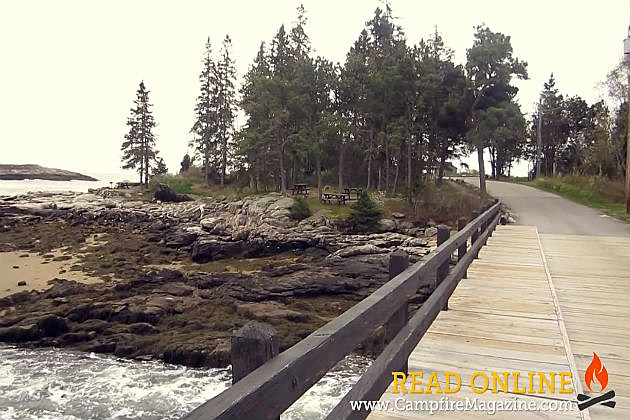 Free admission for most maine state parks on father 39 s day for Free land maine