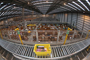 Online Retailers Amazon Prepare For Cyber Monday